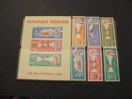 TOGO - 1967  PRE OLIMPICA 6 VALORI + BF - NUOVI(++) - Togo (1960-...)