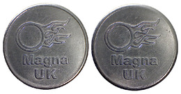 02427 GETTONE JETON TOKEN MACHINE MAGNA UK - Unclassified