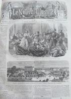 NOUVEL ILLUSTRE1866N°125: PARIS ARRIVEE DU MEDIUM M.W.SCENES D'EXTASE/HANOVRE ANNEXEE A LA PRUSSE/ - Newspapers