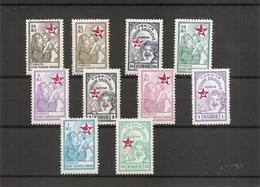 Turquie - Timbres De Bienfaisance ( 64/73 X -MH) - 1921-... Republic
