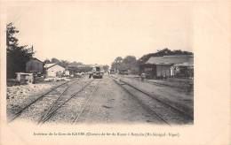 MALI  Soudan Francais Interieur De La  Gare Kayes  Carte Rare (scan Recto-verso) FRCR90944 - Mali