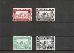 Turquie - Hatay ( Taxes 12/15 X -MH) - 1934-39 Sandjak Alexandrette & Hatay