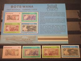 BOTSWANA - 1976 MONETE  4 VALORI + BF - NUOVI(++) - Botswana (1966-...)
