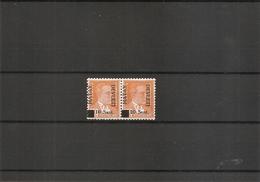 Turquie - Hatay ( 17A Et 17a Se Tenant X -MH) - 1934-39 Sandjak Alexandrette & Hatay
