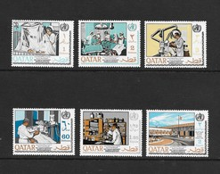 Qatar  1968  Scott  134-9  VF NH Complete Set Of 6 Issued For 20th Anniversary Of WHO - Qatar