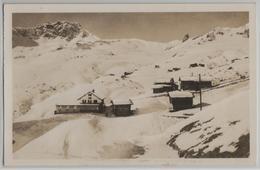 Inner-Arosa - Restaurant Alpenrose Im Winter En Hiver - Photo: E. Oetiker - GR Grisons