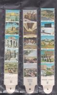 3 Superbes  Marques Pages  Jerusalem  & Bethleem  Scann Recto-verso - Bookmarks