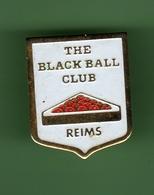 BILLARD *** REIMS - THE BLACK BALL CLUB *** A012 - Billard