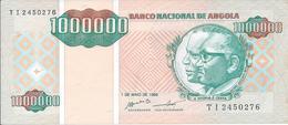 ANGOLA   1 000 000   Kwanzas     1995   P141a    NEUF - Angola