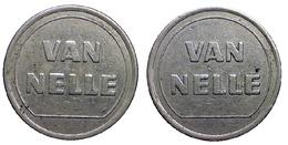01216 GETTONE JETON TOKEN VENDING TOBACCOS MACHINE VAN NELLE - Netherland
