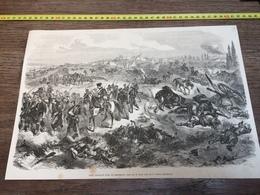 1870/1871 GRAVURE CAMP FRANCAIS PRES DE BEAUMONT - Collections