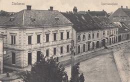 STOCKERAU (NÖ) - Sparkasseplatz, 1905?, Gute Erhaltung - Stockerau