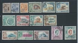 Cyprus 1960 Republic Overprints On QEII Definitives Set Of 15 FU - Chypre (République)