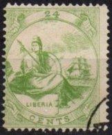LIBERIA - 24 C. FAUX - Liberia