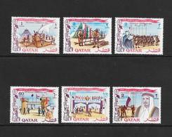Qatar  1969  Scott  184-9  VF NH Complete Set Of 6 Issued For Boy Scout Jamboree - Qatar