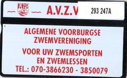 Telefoonkaart  LANDIS&GYR  NEDERLAND * RCZ.293  247a * VOORBURG ZWEM VERENINGING * TK * ONGEBRUIKT * MINT - Nederland