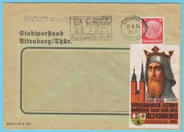J.M.8 - Allemagne - Oblitération - Festival Barberousse - Music