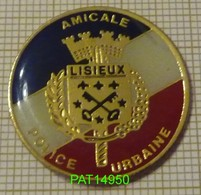 AMICALE POLICE URBAINE LISIEUX - Police