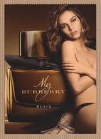 CC Carte Parfumée 'MY BURBERRY BLACK' Perfume Card 15 X 10 Cm - Perfume Cards