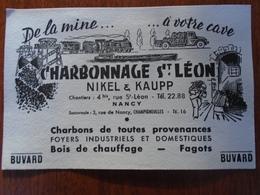 BUVARD / NANCY- NIKEL Et KAUPP / CHARBONNAGES ST  LEON - Blotters