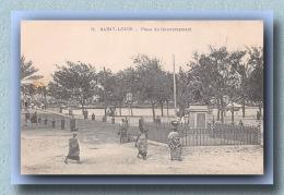 SENEGAL  SAINT LOUIS Place Du Gouvernement  Neuve Excellent état    (scan Recto-verso) FRCR90931 - Senegal
