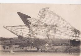 Carte Photo :L'accident Du Dirigeable R 101 à Allonnes Près De Beauvais (60) En 1930 - Aviation