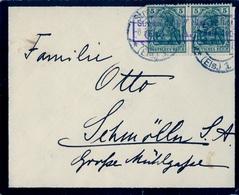 1916 , SOBRE CIRCULADO , MARCA DE CENSURA , STRASSBURG - Cartas