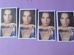 Lancome Hypnose Lot 4 Cartes - Perfume Cards