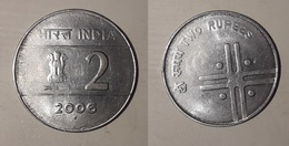 India 2006 2 Rupie Rupee - India