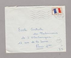 LSC 1966 - Cachet Hexagonal - ROCHEFORT AIR Sur Timbre FM - Marcophilie (Lettres)