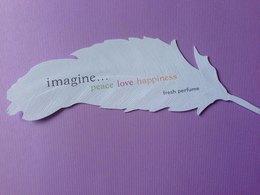 IMAGINE  FRESH PERFUME - Cartes Parfumées