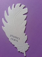 PLUMES  PUPA - Cartes Parfumées