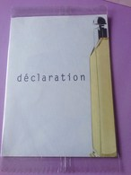 CARTIER DÉCLARATION - Perfume Cards
