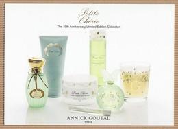 CC Carte Parfumée ANNICK GOUTAL'PETITE CHERIE' Perfume Card - Cartes Parfumées