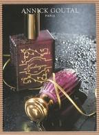 CC Carte Parfumée ANNICK GOUTAL 'MANDRAGORA' Perfume Card - Cartes Parfumées