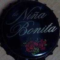 Cerveza La Niña Bonita Brauerei Bier Kronkorken Madrid Spain Beer Bottle Crown Cap TOP Chapa Biere Capsule, Kroonkurken - Bière