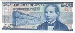 México 50 Pesos 17-5-1979 Pick 67.b GP UNC - México