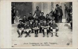 CPA Jeux Olympiques 1924 Paris Non Circulé N° 303 Football Hollande - Jeux Olympiques