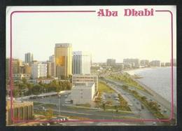 United Arab Emirates Abu Dhabi Cornicher Road Picture Postcard View Card U A E - Dubai