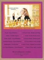 CC Carte Parfumée ANNICK GOUTAL 'BLENDING RECIPES FALL/WINTER' Perfume Card - Cartes Parfumées