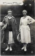 CPA Jeux Olympiques 1924 Paris Non Circulé N° 84 Tennis Suzanne LENGLEN Mallory - Jeux Olympiques