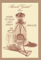 CC Carte Parfumée ANNICK GOUTAL 'L'EAU D'HADRIEN' Perfume Card SAKS FIFTH AVE. - Cartes Parfumées