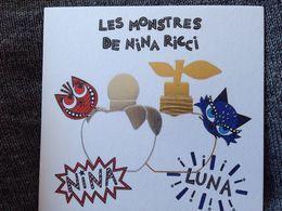 Les Monstres De Nina Ricci - Cartes Parfumées