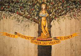 CPM - OUDENAARDE (Edelare) - Kapel O.-L.Vrouw Van Kerselare - Detail Van Wandschildering Door M. Nevens - Oudenaarde