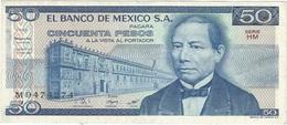 México 50 Pesos 27-1-1981 Pick 73 HM UNC - México