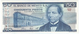 México 50 Pesos 27-1-1981 Pick 73 HQ UNC - México