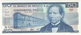 México 50 Pesos 27-1-1981 Pick 73 HT UNC - México
