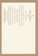 CC Carte Parfumée ANNICK GOUTAL 'L'EAU D'HADRIEN' Perfume Card NORDSTROM - Cartes Parfumées