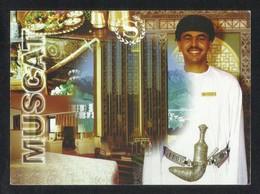 OMAN Picture Postcard Muscat Oman Sheraton Hotel View Card - Oman