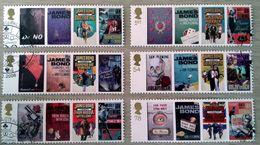 GROSSBRITANNIEN GRANDE BRETAGNE GB  2008 James Bond Set Of 6 SG 2797-2802 SC 2531-36 MI 2599-604 YV 2965-70 - Gebraucht